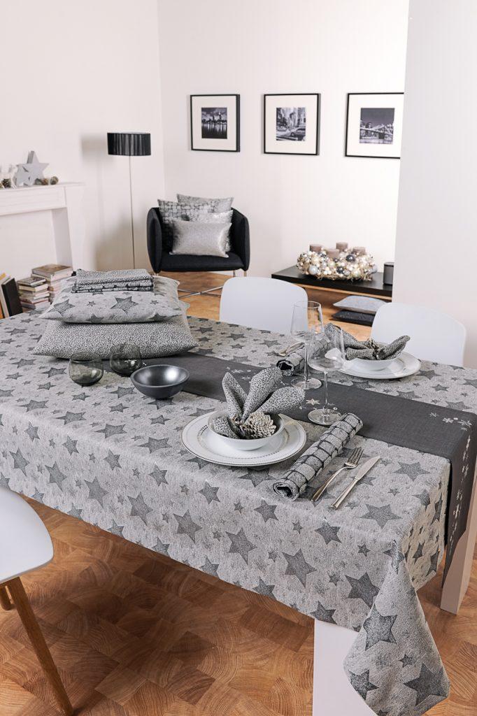 stół w w srebrnej odsłonie